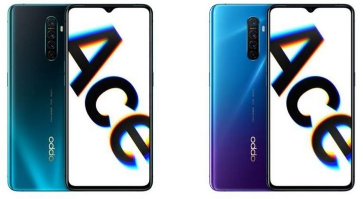 oppo reno ace colors