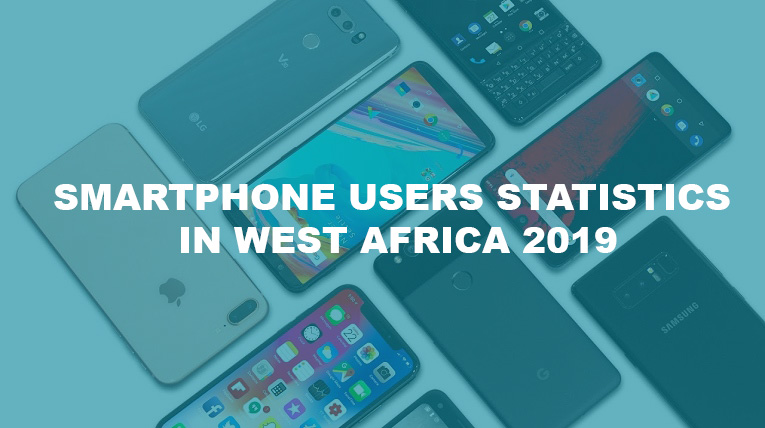 smartphone user statistics in west africa 2019 image