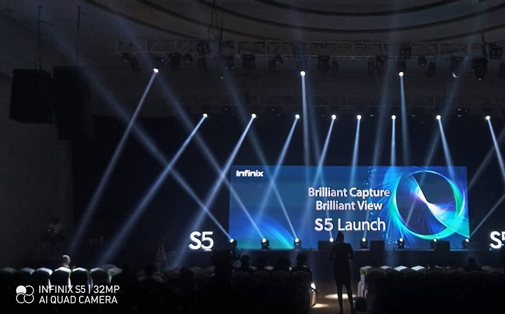 infinix s5 and s5 lite launching image