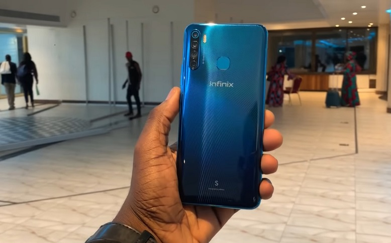 infinix s5 hands-on back review image