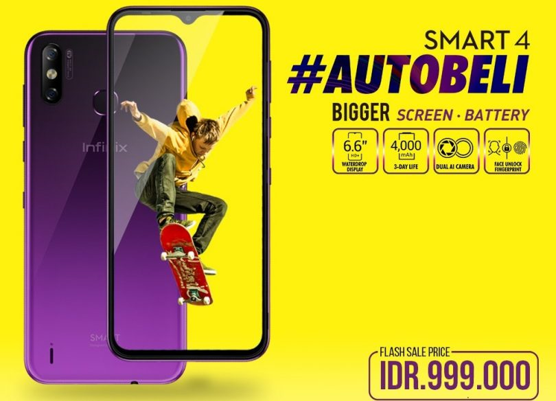 infinix smart 4 official launching