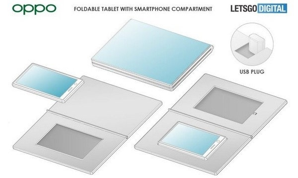oppo releases patent for folding screen device