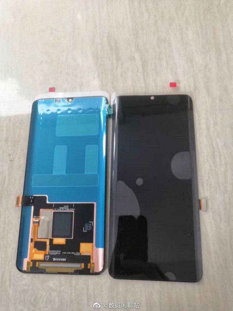 xiaomi mi cc9 pro on screen fingerprint leaked