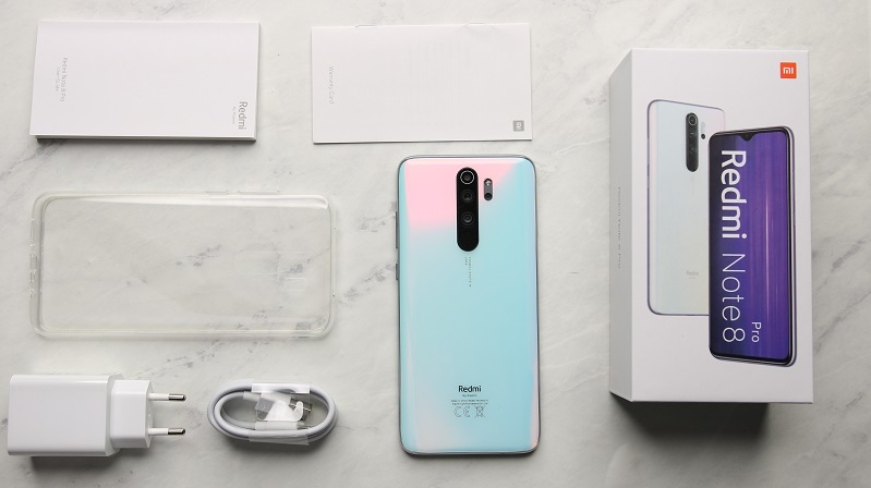 xiaomi redmi note 8 pro all box review image