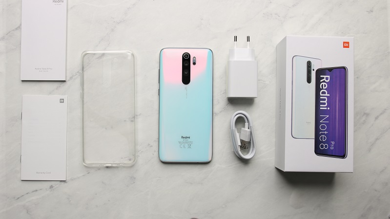 xiaomi redmi note 8 pro full box contents review image