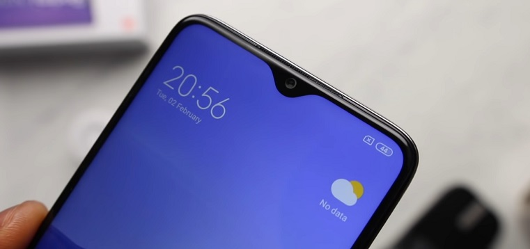 xiaomi redmi note 8 pro top screen review image