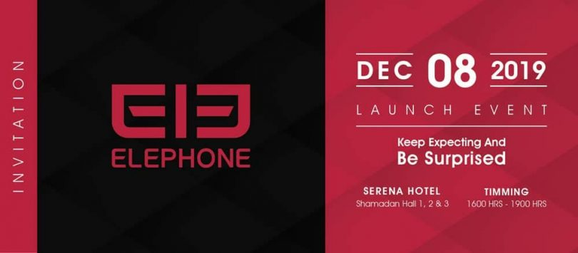 Elephone set to launch in Pakistan