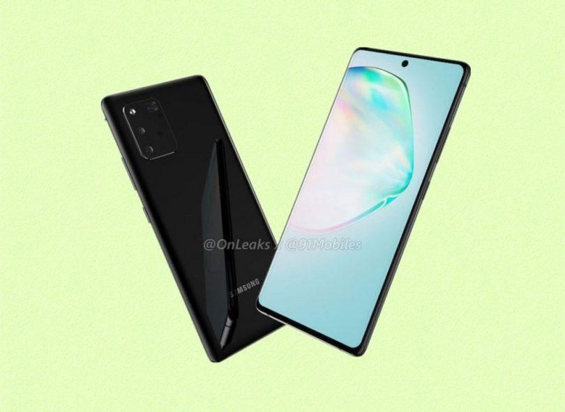 Samsung Galaxy A91 leak
