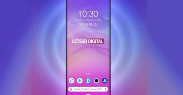Upcoming Sony Xperia phone render